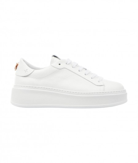 Gio+ Sneakers in leather white