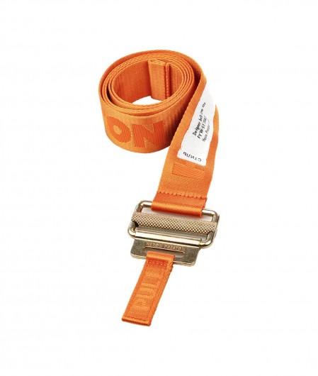 Heron Preston Logo Tape Gürtel Orange