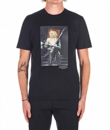 Neil Barrett T-Shirt mit Print Schwarz
