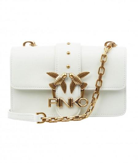 Pinko Crossbodybag with logo white