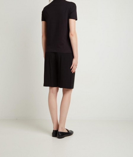 Versace Jeans Couture Jersey T-Shirt Schwarz