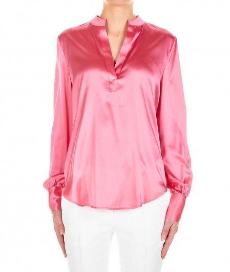 "Pinko Silk blouse ""Petrali"" pink"