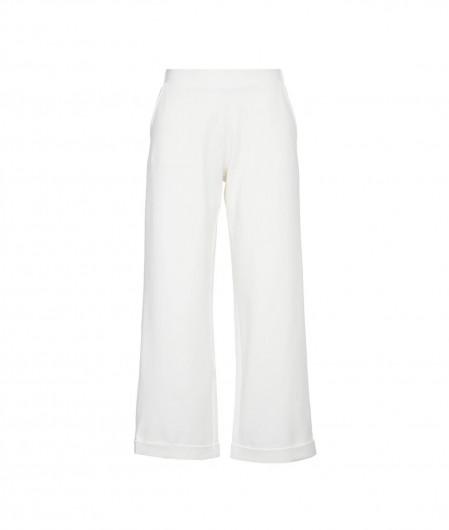 Icon Weite Hose aus Jersey Creme