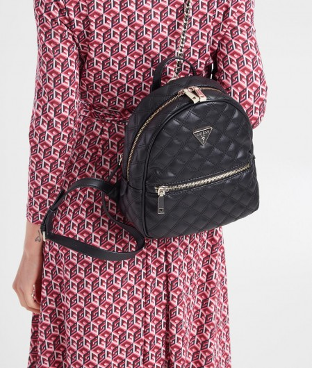 """Guess Mini backpack """"Cessily"""" black"""