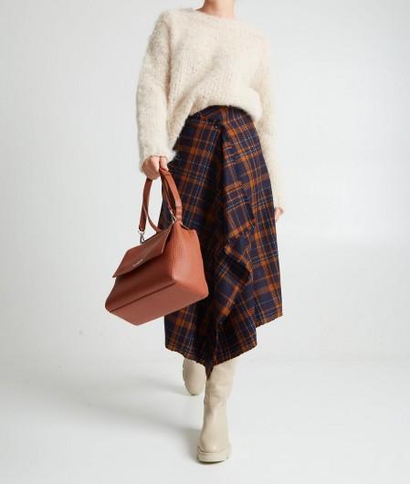 Ballantyne Wrap Skirt Dunkelblau