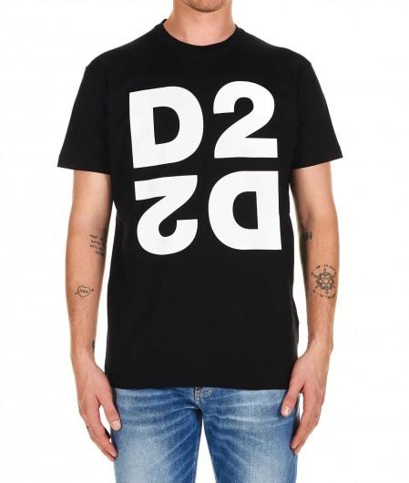 Dsquared2 T-shirt D2 black