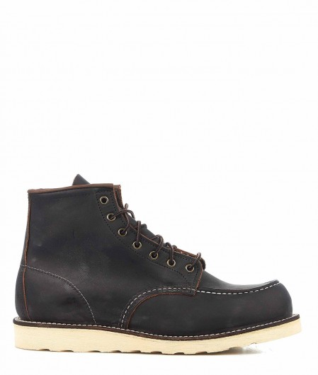 Red Wing Stiefel in Leder Schwarz