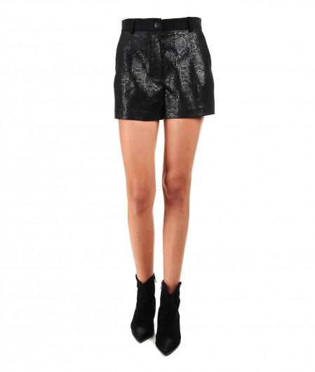 "8PM Velvet shorts ""Aludra"" black"