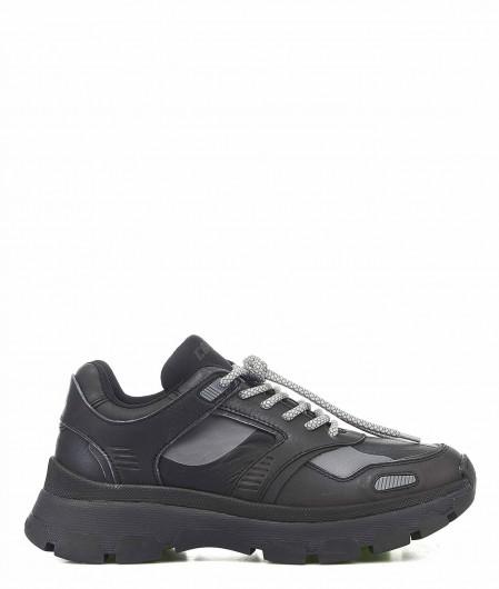 "Crime London Sneakers ""Functional"" Schwarz"
