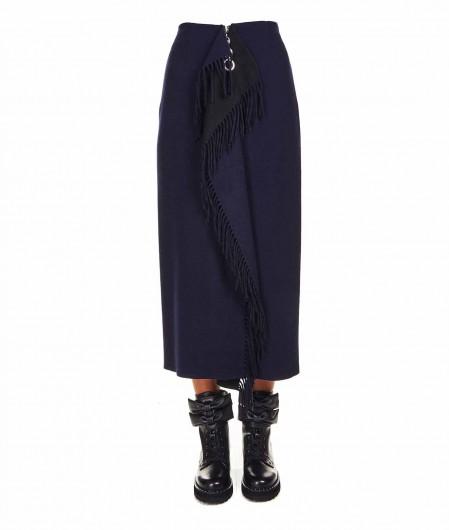 Smarteez Skirt in wool fleece navy