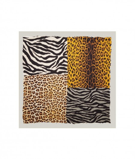 Moschino Foulard animalier multicoloured