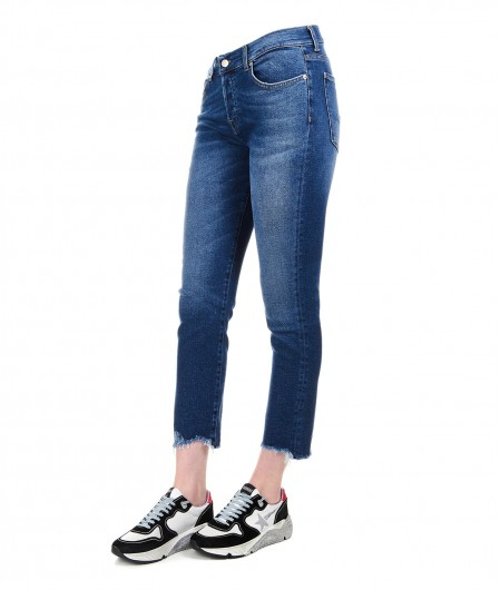 "7 for all mankind Cropped Jeans ""Asher"" Dunkelblau"