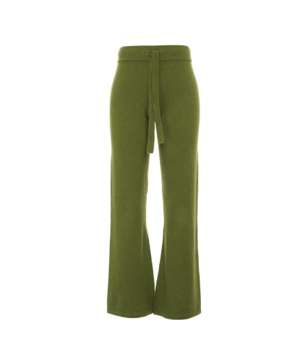 Crush Pants in cashmere green