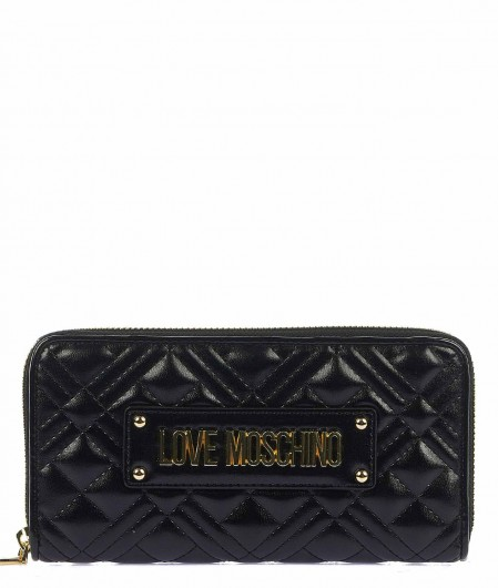 Love Moschino Wallet with logo black