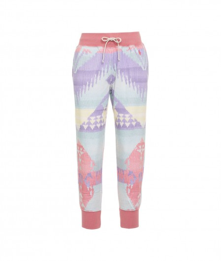 Polo Ralph Lauren Joggers with print multicoloured