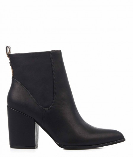 Guess Fake leather boots black