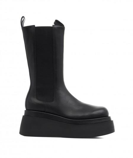 "Giampaolo Viozzi  Boots with platform heel ""Enna"" black"