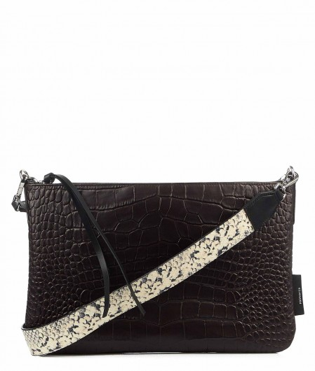 "Profanter Crossbody bag ""Jade"" dark brown"