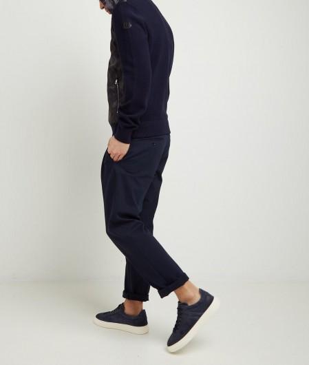 Moncler Down cardigan navy