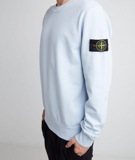 Stone Island Sweatshirt light blue