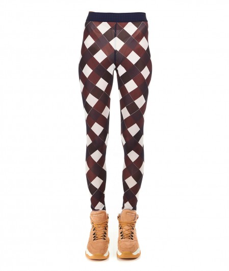 "Baum und Pferdgarten Printed leggings ""Jazzlyn"" dark brown"