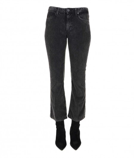 "Dondup Jeans in velluto a costine ""Amanda"" grigio scuro"