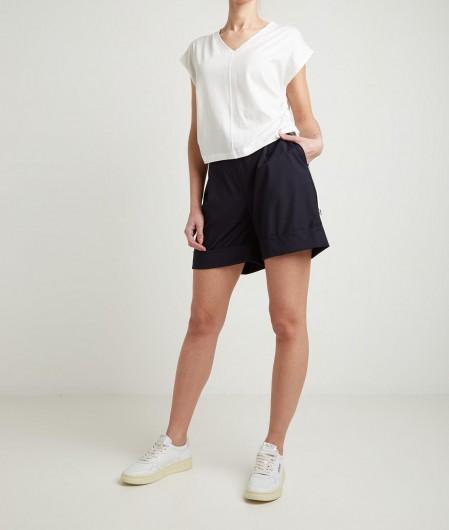 Kaos T-shirt with drawstring white