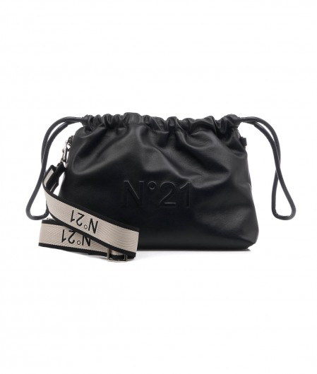 "N°21 Shoulder bag Mini ""Eva"" black"