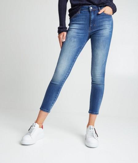 """Guess Skinny Jeans """"Len"""" Blau"""