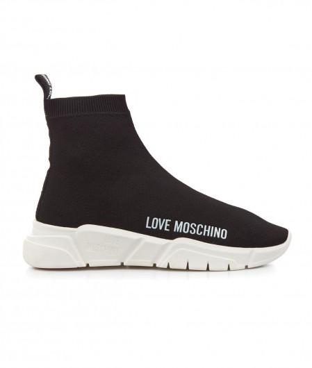 Love Moschino Sock Sneaker Schwarz