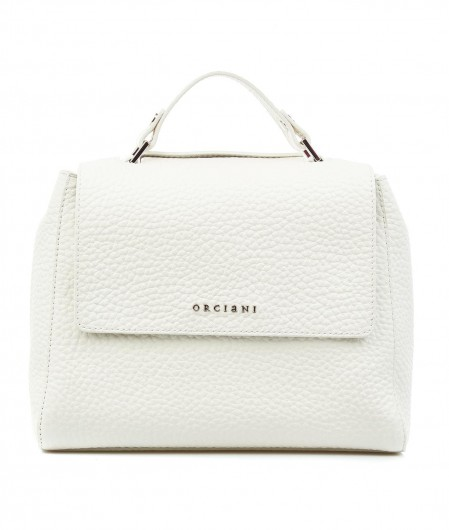 Orciani Mini handbag nappa leather white