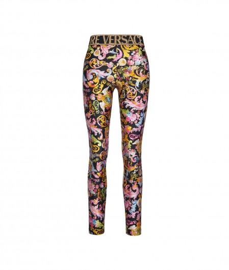 Versace Jeans Couture Leggings mit Versailles Print Schwarz