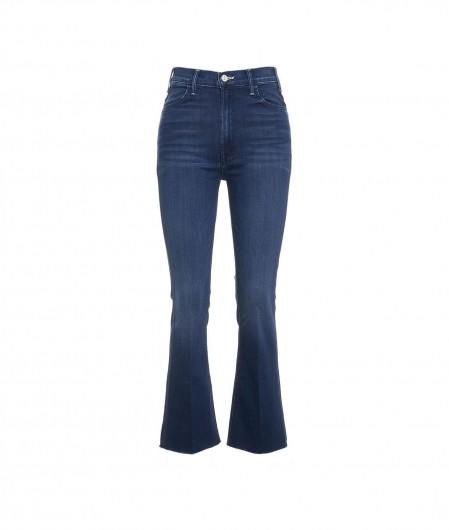 "Mother Jeans ""The Hustler Ankle Fray"" Blau"