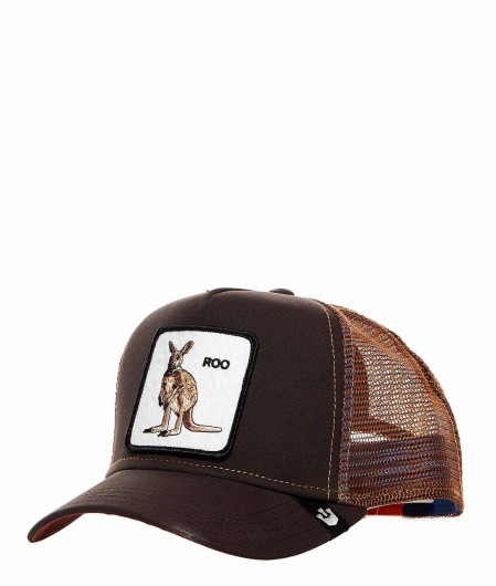 "Goorin Bros Baseball Cap ""Roo"" brown"