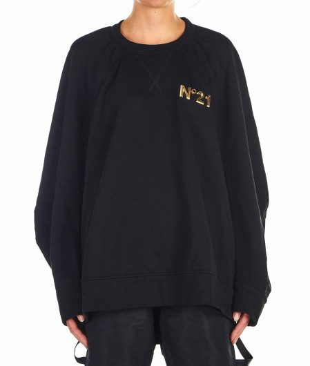N°21 Oversize sweater black