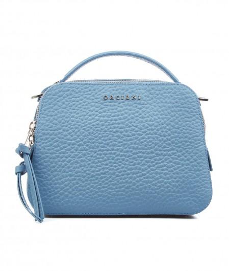 Orciani Mini handbag nappa leather light blue