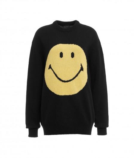 "Joshuas Sweater ""Smiley"" Schwarz"