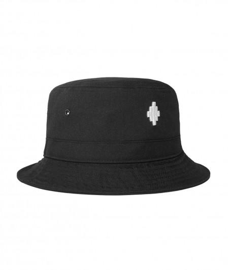 Marcelo Burlon Cross Bucket Hat Schwarz