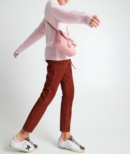 N°21 Sweater mit Rundhalsausschnitt Hellrosa