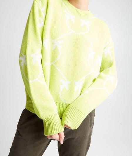 "Pinko Sweater ""Abby Road"" Gelb"