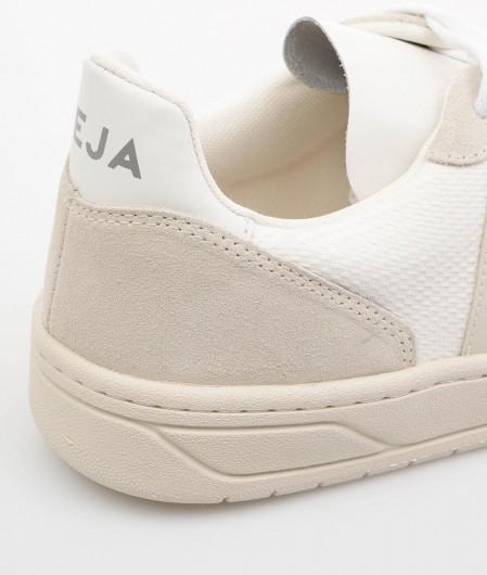 "Veja  Sneaker ""V-10 B-Mesh"" Weiß"