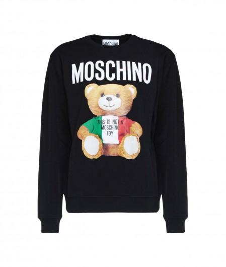 Moschino Sweatshirt with teddy print black