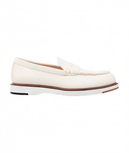 Tod's Mocassins in leather creme