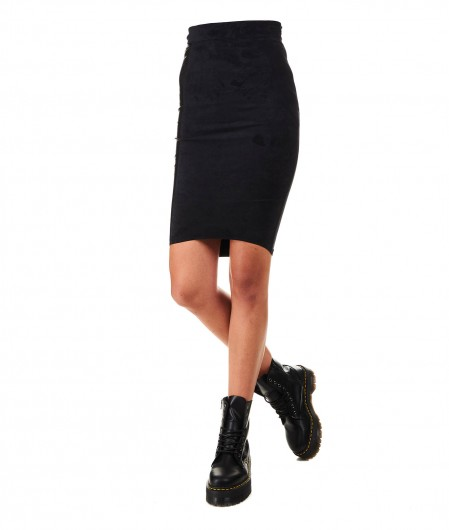 "8PM Pencil skirt ""Gene Simmons"" black"