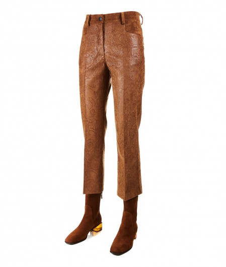 """8PM Velvet trousers """"Altair"""" light brown"""