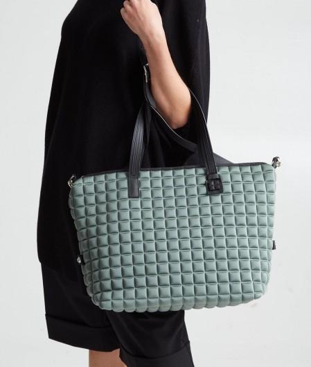 BPrime Big Zipper Cube Bag Grün