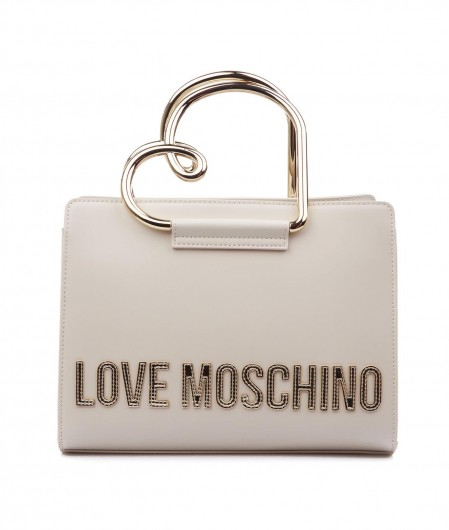 Love Moschino Henkeltasche Creme