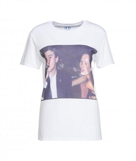 """Elite 55 T-Shirt """"Couple"""" Weiß"""