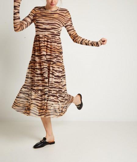 """Baum und Pferdgarten Tiger-Dress """"Jocelina"""" Beige"""