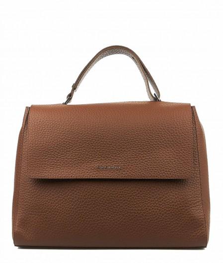 Orciani Handtasche aus Nappaleder Braun